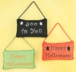 Fun Halloween Pillows - 3 Styles