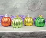 Glittered Pumpkins - 4 colors