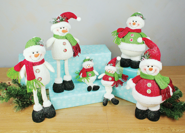 Snowmen Assortment