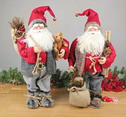 Realistic Santas