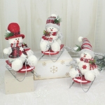 $5.00 each Sledding Snowmen